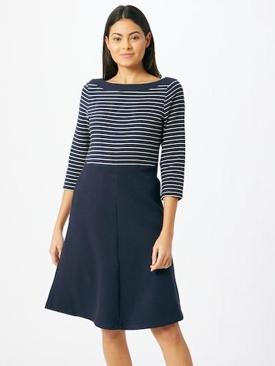 ESPRIT Kleid in navy / weiß, Modelansicht