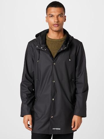 Manteau mi-saison 'Stockholm' Stutterheim en noir