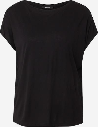 OPUS T-Shirt 'Salmi' in schwarz, Produktansicht