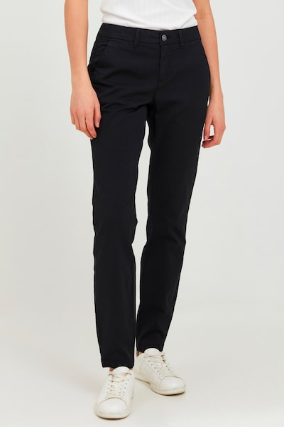 Oxmo Chino Pants 'CHILLI' in Black, View model
