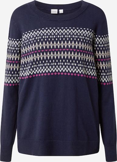 GAP Sweater 'FAIRISLE' in Navy / Purple / White, Item view