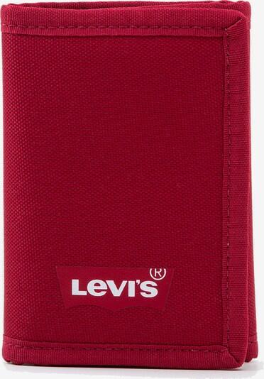 LEVI'S Portemonnaie in rot / weiß, Produktansicht