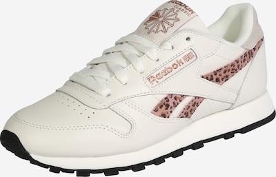 Reebok Classic Sneaker in braun / weiß, Produktansicht