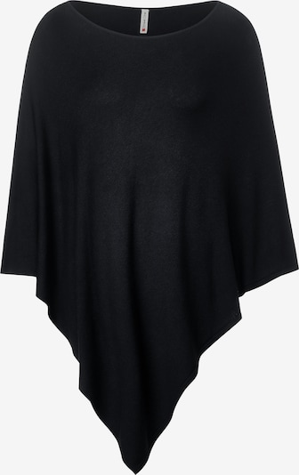STREET ONE Poncho in schwarz, Produktansicht