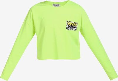 myMo ATHLSR Pull-over de sport en jaune fluo, Vue avec produit