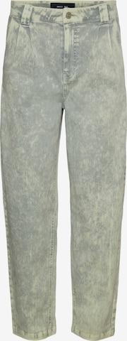 Noisy may Bandplooi jeans 'Lou' in Grijs