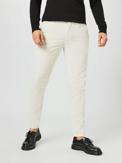 BOSS Casual Chino kalhoty - krémová, Model/ka