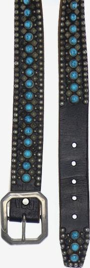 UNBEKANNT Belt in XS-XL in Blue / Dark brown / Silver grey, Item view