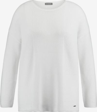 SAMOON Pullover in weiß, Produktansicht