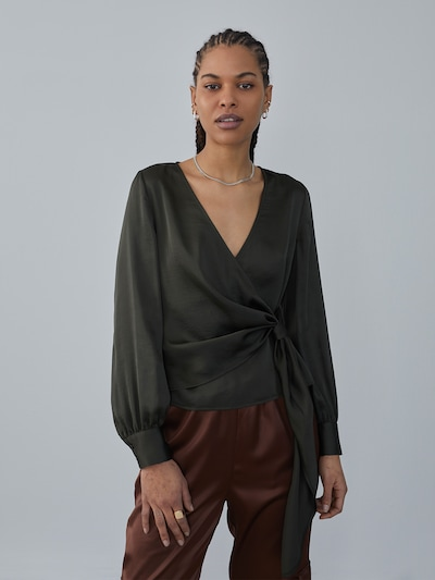 LeGer by Lena Gercke Bluza 'Nadja' u tamno zelena, Prikaz modela