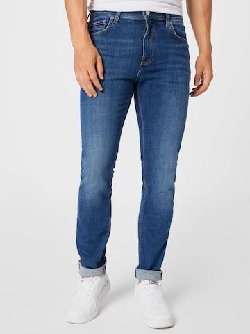 TOMMY HILFIGER Jeans 'SLIM BLEECKER STR AUSTIN IND' in Blau