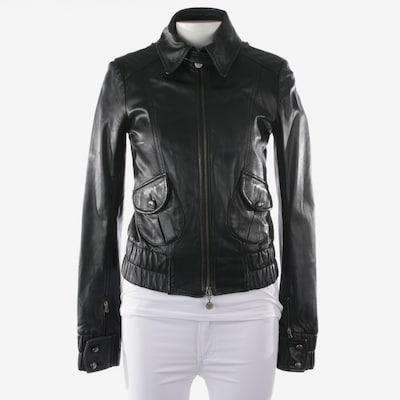 PATRIZIA PEPE Lederjacke  in M in schwarz, Produktansicht