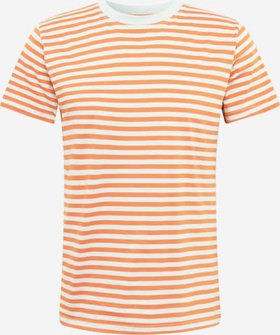 Tricou 'Stockholm Stripes' DEDICATED. pe portocaliu / alb, Vizualizare produs