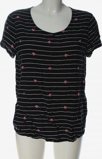 ONLY Print-Shirt in XL in pink / schwarz / weiß, Produktansicht