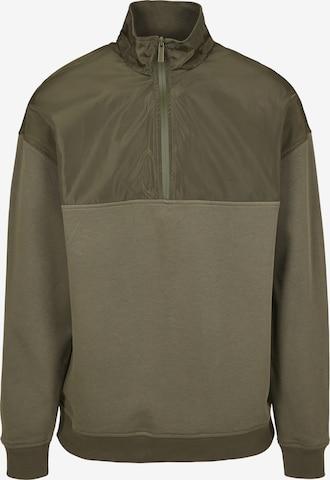 Urban Classics Sweatshirt i grønn