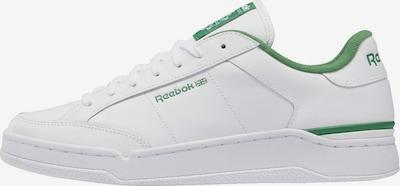 Reebok Classic Baskets basses 'AD Court' en vert / blanc, Vue avec produit