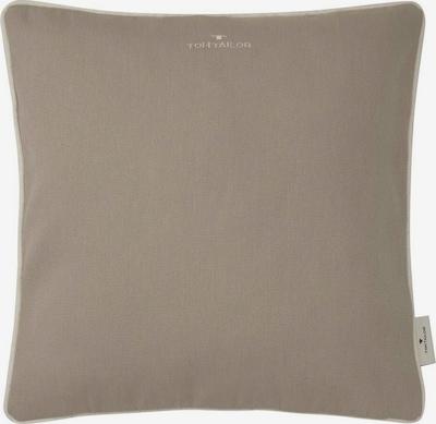 TOM TAILOR Kissen in beige / grau, Produktansicht