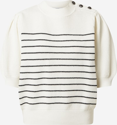 Suncoo Pullover 'PEROZ' in schwarz / weiß, Produktansicht