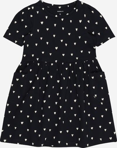 NAME IT Kleid 'Dagmar' in dunkelblau / weiß, Produktansicht