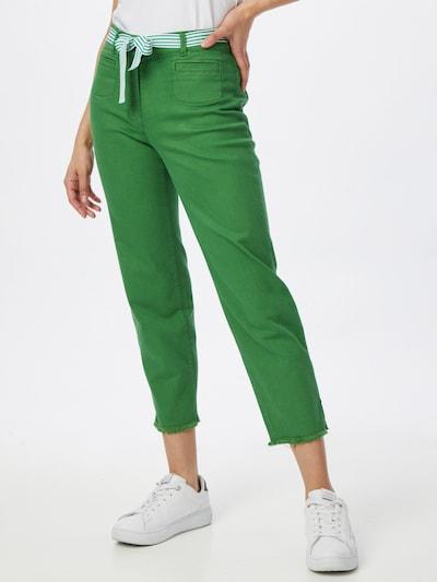 GERRY WEBER 3/4 Jeans in dunkelgrün, Modelansicht