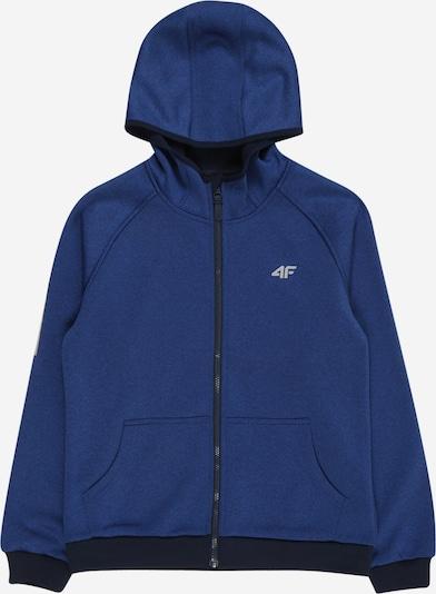 4F Functionele fleece jas in de kleur Navy, Productweergave