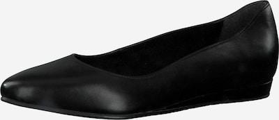 TAMARIS Ballerina in schwarz: Frontalansicht