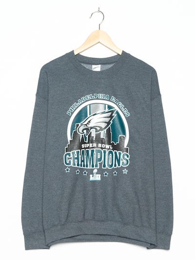 Gildan Sweatshirt in L-XL in dunkelgrau, Produktansicht