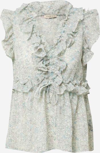 Stella Nova Блуза 'Pina' в бежово / тюркоазен / сиво, Преглед на продукта