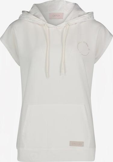 Cartoon Sweatshirt in weiß, Produktansicht