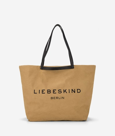 Liebeskind Berlin Shopper aus Canvas in hellbraun, Produktansicht