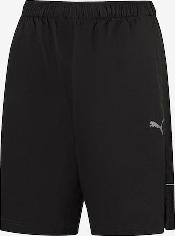PUMA Shorts in Schwarz