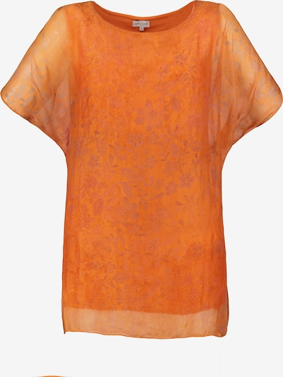 Gina Laura Seidenbluse in orange, Produktansicht