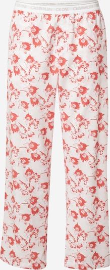 Calvin Klein Underwear Pyžamové nohavice 'CK One' - svetlosivá / melónová / biela, Produkt
