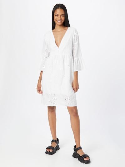 Vasarinė suknelė 'Jenna' iš Zwillingsherz, spalva – balta, Modelio vaizdas