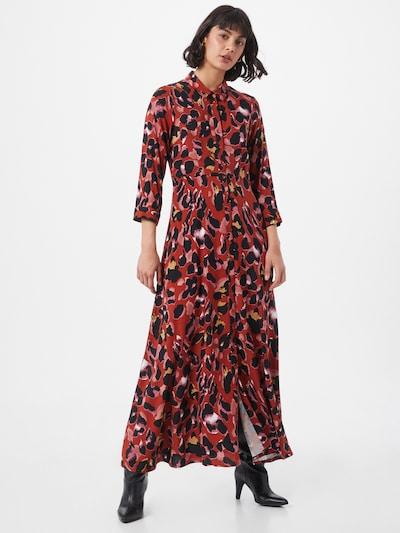 Y.A.S Kleid 'Savanna' in mischfarben / rot, Modelansicht