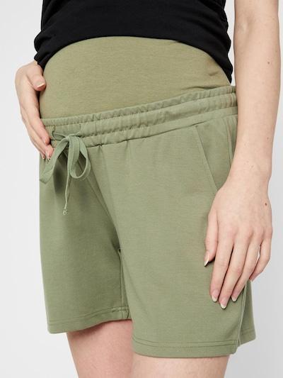 MAMALICIOUS Kalhoty - zelená, Model/ka