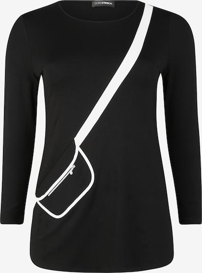 Doris Streich Longsleeve in schwarz / weiß, Produktansicht