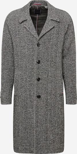 Tommy Hilfiger Tailored Płaszcz przejściowy 'HERRINGBONE' w kolorze szary / czarnym, Podgląd produktu