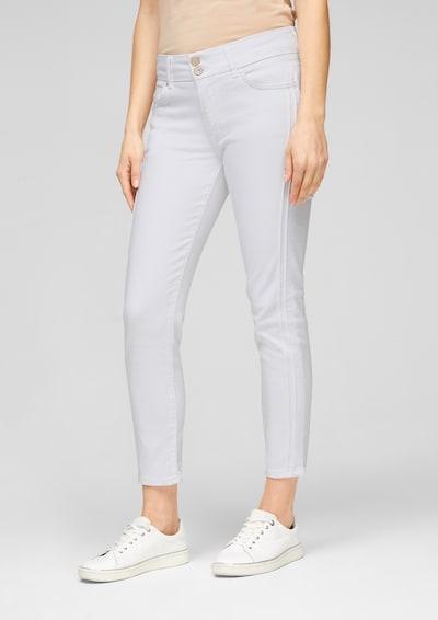 s.Oliver BLACK LABEL Jeans in weiß, Modelansicht