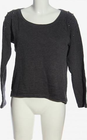 TOM TAILOR DENIM Sweatshirt & Zip-Up Hoodie in M in Grey