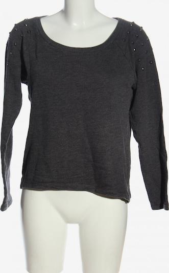 TOM TAILOR DENIM Sweatshirt in M in hellgrau, Produktansicht