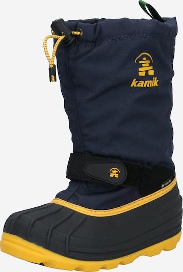 Kamik Boots 'WATERBUG8G' in de kleur Navy / Geel, Productweergave