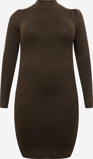 PIECES Curve Kleid 'CANA' in dunkelgrün, Produktansicht