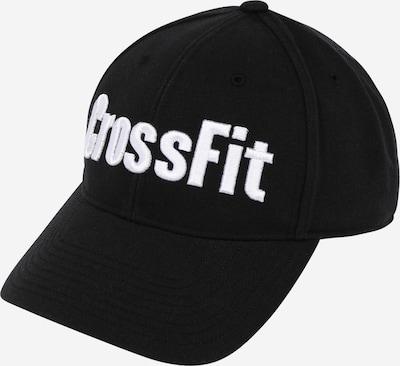 Șapcă sport REEBOK pe negru / alb, Vizualizare produs