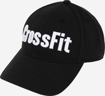 REEBOK Sporta cepurīte melns / balts, Preces skats