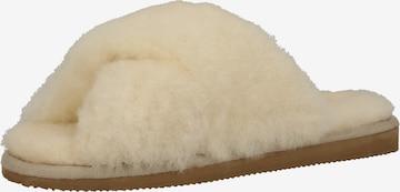 SHEPHERD Slippers in Beige