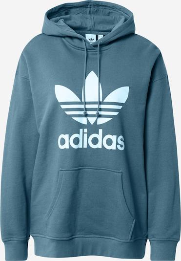 ADIDAS ORIGINALS Sweater majica u tirkiz / bijela, Pregled proizvoda