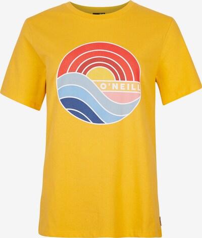 O'NEILL T-Shirt 'Sunrise' in mischfarben / orange, Produktansicht