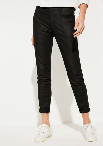 COMMA Jeans in schwarz: Frontalansicht