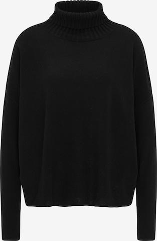 usha BLACK LABEL Υπερμέγεθες πουλόβερ σε μαύρο